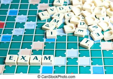 Exam word