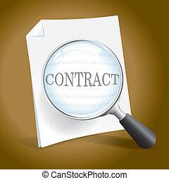 exame, contrato