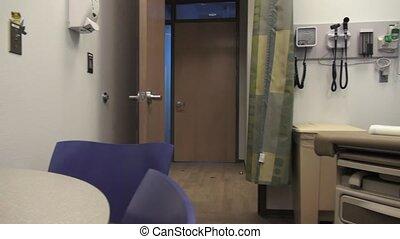 examen médical, salle