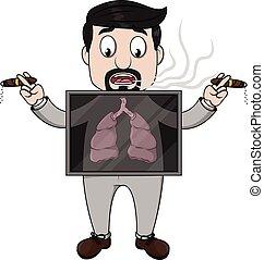 examen, poumon