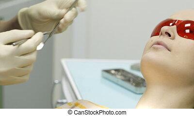 Examination in dental surgery