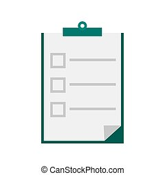 Examination - Quiz, competition, exam icon vector image. Can...