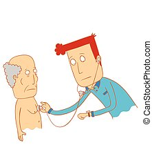 examiner, sien, patient, docteur