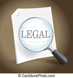 Examining a Legal Document - Taking a closer look at a legal...