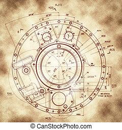 Example of industry document blueprint design drawings of example of industry document blueprint malvernweather Choice Image