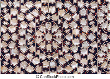 Example of Mother of Pearl inlays