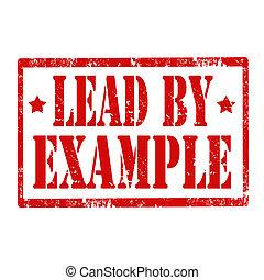 example-stamp, liderar