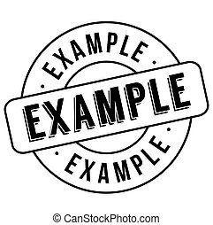 Example stamp typ