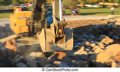 Excavation and soil disposal - Hydraulic excavator works for...