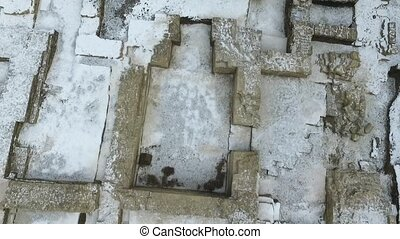 Excavation of an old orthodox temple - Excavations of the...