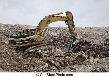 excavation, pierre