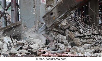 Excavator jack hammer with sound