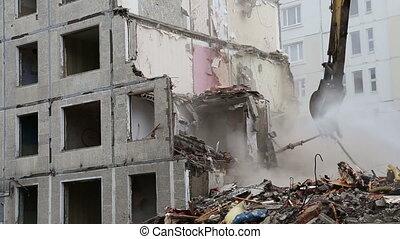 demolition old house