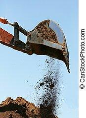 Excavator or Digger