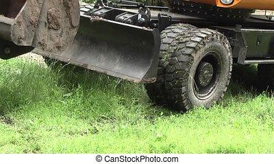 excavator digger.