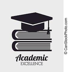excelência, acadêmico, desenho