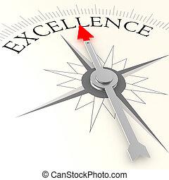 excellence, compas