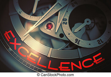 Excellence on Luxury Watch Mechanism. 3D.