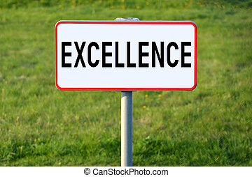 Excellence signpost