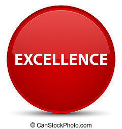 Excellence special red round button