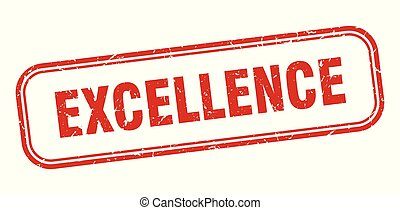 excellence stamp. excellence square grunge sign. excellence