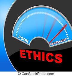 excellency, principios, moraleja, excelente, éticas,...