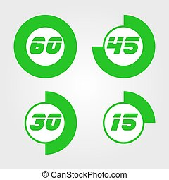 Excellent Green Timer icon