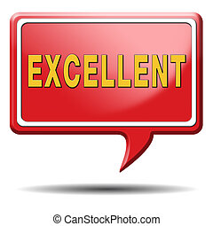 excellent awesome success great performance super quality or incredible beauty