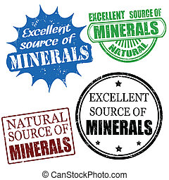 excellent source of minerals stamps