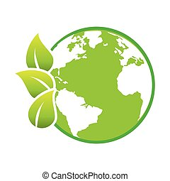 excepto, el mundo, planeta, ecología