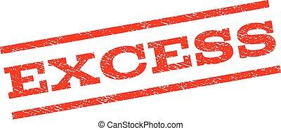 Excess Watermark Stamp
