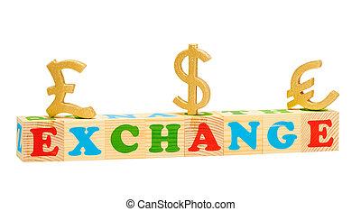 Exchange Wooden Blocks