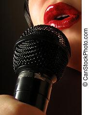 excitado, cantor