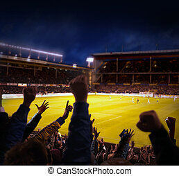 excitation, football