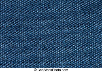 Exciting textile background in elegant blue colour.