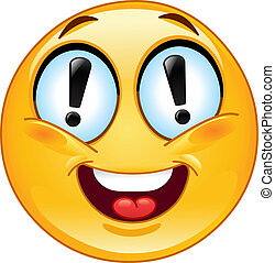 Exclamation emoticon - Emoticon with exclamation marks in...