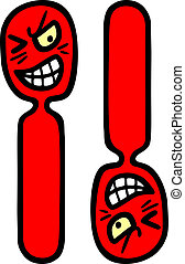 Exclamation faces