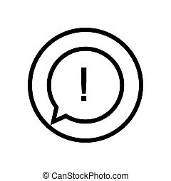 exclamation mark icon