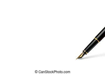 exclusif, pen.