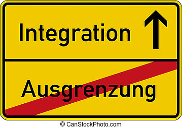 Exclusion and integration - The German words for exclusion...