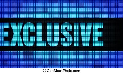 Exclusive Front Text Scrolling LED Wall Pannel Display Sign ...