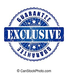 Exclusive  Guarantee Stamp.