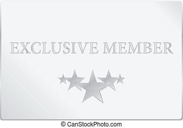Exclusive Member Card