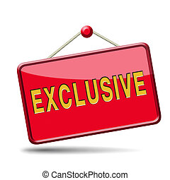 exclusive offer edition or VIP treatment rare high quality ...