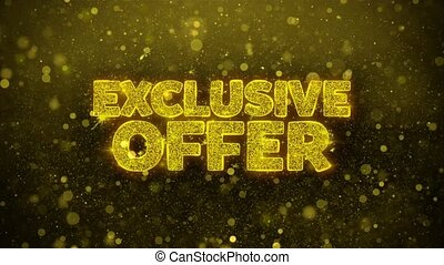 Exclusive Offer Wishes Greetings card, Invitation, ...