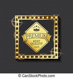 Exclusive Premium Quality Since Year Golden Label - Premium ...