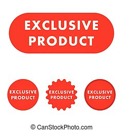 Exclusive product button