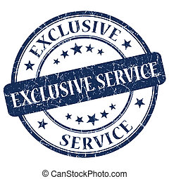 Exclusive Service Blue Stamp