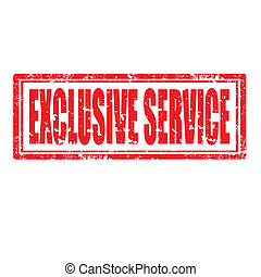 Exclusive Service-stamp