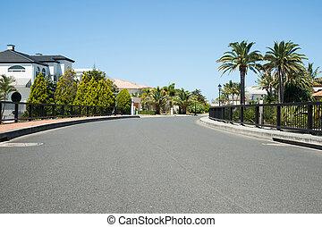 Exclusive street.